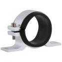 Support filtre / pompe essence Simple Alu intérieur 50-55mm