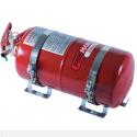 Kit extincteur automatique Lifeline 4L Mécanique Acier avec anti-torpille