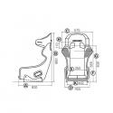 Baquet RECARO Pro Racer FIA Fibre - Carbone kevlar