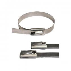 Collier inox (lot de 10) 360x4mm