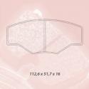 Plaquettes CARBONE LORRAINE - 5003W48T16
