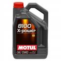 Huile Motul 8100 X-Power 10w60 - 5L
