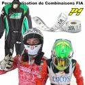 Combinaison P1 FIA Personnalisée
