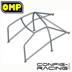 Arceau Standard OMP FIA Peugeot 205 GTI/Rallye 6 Points à souder