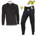 Tee-shirt + Pantalon P1 FIA - Noir
