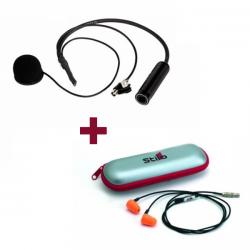 Micro plus écouteurs ear plug STILO pour casque intégral