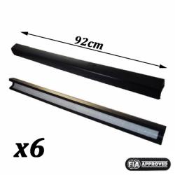 Mousse d'arceau FIA Diamètre 40 Longueur 91cm (lot de 6)