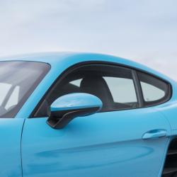 Vitre arrière latérale Makrolon Porsche Cayman 981