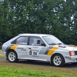 Vitre arrière latérale Makrolon Opel Kadett E Coupé