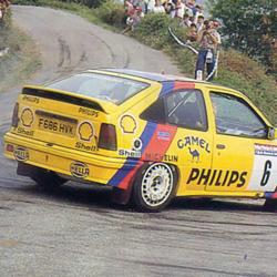 Lunette arrière Makrolon Opel Kadett E Coupé