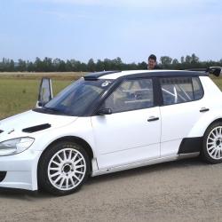 Vitre arrière latérale Makrolon Skoda Fabia R5