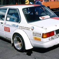 Lunette arrière Makrolon BMW E21 coupé