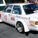 Vitre avant Makrolon BMW E21 coupé