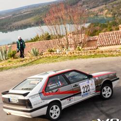 Vitre avant Makrolon Audi Quattro coupé