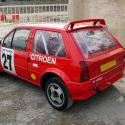 Lunette arrière Makrolon Citroen Ax - 3 portes