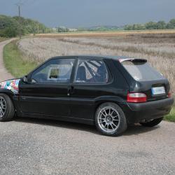 Vitre arrière latérale Makrolon Citroën Saxo 3 portes