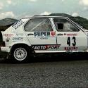 Vitre arrière latérale Makrolon Citroën Visa