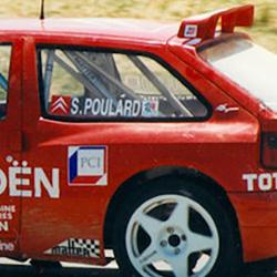 Vitre arrière latérale Makrolon Citroën ZX
