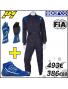 PACK Combinaison P1 Noir + Bottines et Gants Sparco | FIA