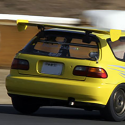 Lunette arrière Makrolon Honda Civic EG6