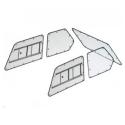 Kit Makrolon Honda CRX ED9 et EE8 - 3mm