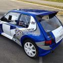 Vitre arrière latérale Makrolon Peugeot 205 3 portes