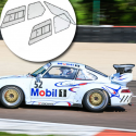 Kit Makrolon Porsche 911 (type 964) - 3mm