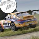 Kit Makrolon Porsche 997 - F2000