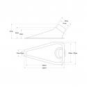 Ecope de refroidissement Naca simple Noir - 51/63mm