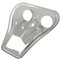 Ecope de refroidissement Naca double Transparente - 70mm