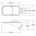 Ecope de refroidissement GT Transparente - 63/76mm