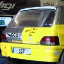 Lunette arrière Makrolon Renault Clio 1
