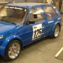 Vitre arrière latérale Makrolon Volkswagen Golf 2