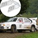 Kit Makrolon Citroën BX - 5mm