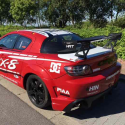 Vitre arrière latérale Makrolon Mazda RX8