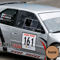 Vitre avant Makrolon Peugeot 306 - teinté fumé