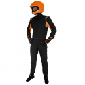 Combinaison SPARCO Sprint RS-2.1 - FIA - Noir/orange