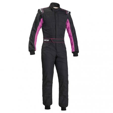 Combinaison SPARCO Sprint RS-2.1 - FIA - Noir/rose
