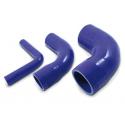 Réducteurs coudés silicone 90°