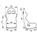 Baquet OMP Champ R - FIA