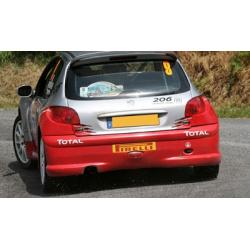 Pare-chocs Arrière - Peugeot 206 S1600