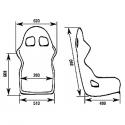 Baquet OMP WRC-R - FIA