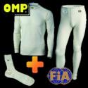 Pack T-shirt + Pantalon + Chaussettes OMP - FIA