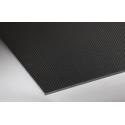 Plaque de carbone - 1.5 mm d'épaisseur