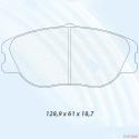 Plaquettes CARBONE LORRAINE - Peugeot 306 S16