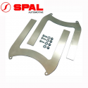 Kit fixation Alu ventilateur Spal - 190mm