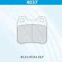 Plaquettes CARBONE LORRAINE - Opel Astra (H) GSi