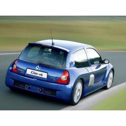 Vitre arrière latérale Makrolon Renault Clio V6