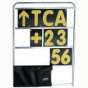 Tableau de panneautage OMP - 4 rangées - Avec numéros