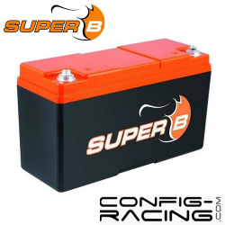 Batterie Lithium Super B - 20 A/h - démarrage 1000A - 250x97x157 mm